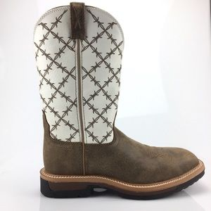 Twisted X Work Boots Alloy Toe Lite Cowboy Boots